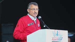 Cumhurbaşkanı Yardımcısı Fuat Oktay Teknofest İstanbulun kapanış töreninde konuştu
