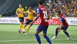 Trabzonsporun rakibi Basel bir puana razı oldu