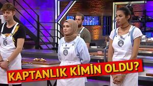 MasterChefte kaptanlık oyununu kim kazandı İşte MasterChef Türkiyenin son bölümünde yaşananlar