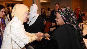 Emine Erdoğan, ABDli Müslüman toplumun kadın temsilcileriyle  buluştu