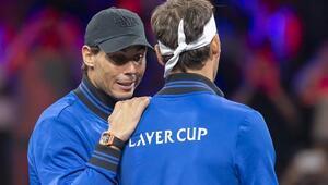 Laver Cupta tarihi an Rüzgar terse döndü, Federer ile Nadal...