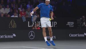 Roger Federer'in zor anları...