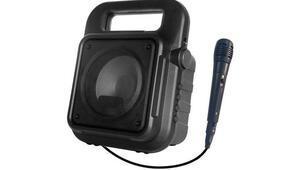 Hometechten taşınabilir mikrofonlu hoparlör