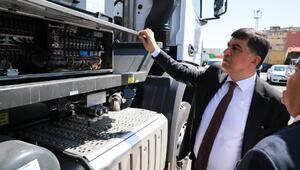 Başkan Fadıloğlu, yeni hizmet araçlarını inceledi