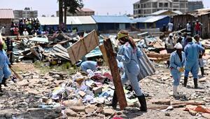 Kenya'da okul dersliği çöktü: 7 ölü