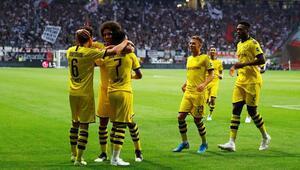 Eintracht Frankfurt 2-2 Borussia Dortmund (ÖZET)