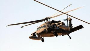 Akçakale'de askeri hareketlilik  ABDye ait 2 helikopter geldi