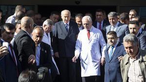 MHP Genel Başkanı Devlet Bahçeli taburcu oldu