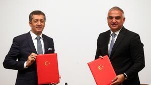 MEBden Kültür ve Turizm Bakanlığı ile turizm işbirliği