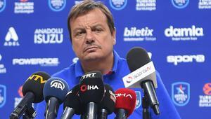Ergin Ataman: Euroleague başlayınca hazır olacağız