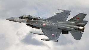 Türk F-16'ları Fırat'ın doğusunda