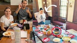 Güzel oyuncu Ece Hakim, Harvardda sucuklu yumurta yaptı