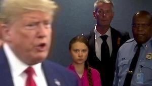 Trump, Greta Thunbergin BMdeki öfke dolu konuşmasıyla dalga geçti