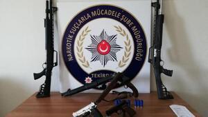 Çerkezköyde uyuşturucu operasyonu: 11 gözaltı