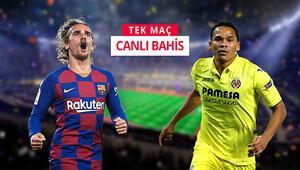 Barcelona - Villarreal maçına sürpriz iddaa tercihi İlk yarıdaki gol sayısı...