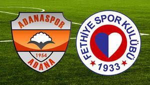 Adanaspor Fethiyespor maçı ne zaman saat kaçta hangi kanalda