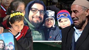 Sivastaki kazada ölen baba ve 3 oğlunun cenazesinde gözyaşları sel oldu