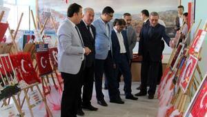 Dinarda 81 İlde Şanlı Bayrağım sergisi