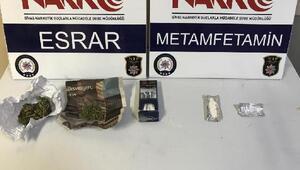 Sivasta uyuşturucu operasyonlarında 1 tutuklama