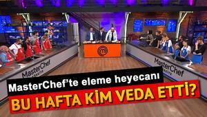 MasterCheften bu hafta kim elendi MasterChef Türkiyede dokunulmazlığı kim kazandı