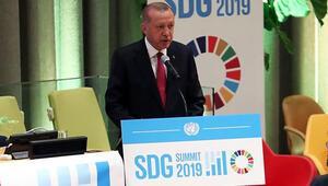 Cumhurbaşkanı Erdoğan: Fıratın doğusunu terör örgütlerinden temizlemeye hazırlanıyoruz