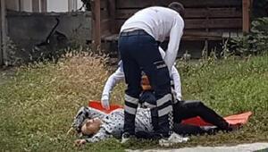Tartıştığı sevgilisini evinin bahçesinde bıçakladı