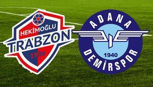 Hekimoğlu Trabzon Adana Demirspor maçı ne zaman saat kaçta hangi kanalda