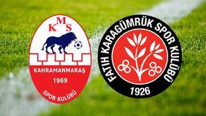 Kahramanmaraşspor Karagümrük maçı saat kaçta ve hangi kanalda