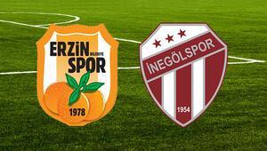 Erzinspor İnegölspor maçı ne zaman saat kaçta hangi kanalda