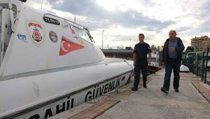 Başkan Salmandan Sahil Güvenlik Komutanlığına ziyaret