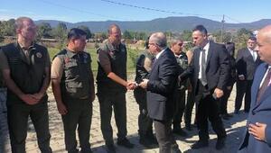 Orman Bölge Müdürü Demirci, Kalkımda personel ile bir araya geldi