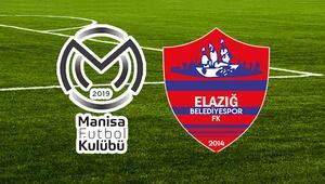 Manisa FK Elazığ Belediyespor maçı ne zaman saat kaçta hangi kanalda