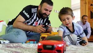 Van Beşiktaşlılar Derneği, minik Yusufun yüzünü güldürdü