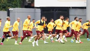 Galatasarayda Fenerbahçe maçı hazırlıkları