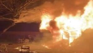 New Yorkta Türk ailenin evi kundaklandı