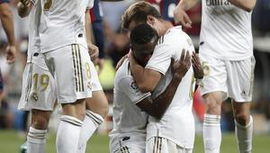 Golü attı, hüngür hüngür ağladı Real Madridde...
