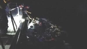 Havadan ve radardan tespit edilen 130 kaçak göçmen yakalandı