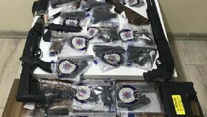 Bolu Emniyeti, yasak olan silahlarla ilgili işlem sayılarını açıkladı