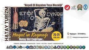 Hatay lezzetleri İstanbulda meraklılarıyla buluşuyor