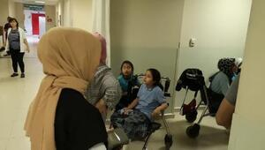 Bursada 20 öğrenci hastaneye kaldırıldı