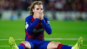 Barcelonaya komik ceza Griezmann...