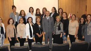 Kadın girişimciler, Bergama Ticaret Odasında seminere konuk oldu