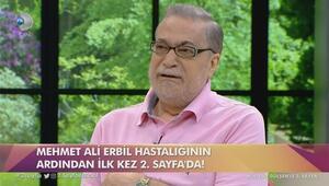 Mehmet Ali Erbilin duygusal anları