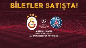 Galatasarayda PSG maçının öncelikli bilet satışı başladı