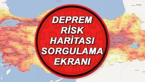 İstanbul ilçeleri için deprem risk haritası ve fay hattı sorgulama