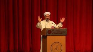 Diyanet İşleri Başkanı Erbaş: Bu tür afetlerden rabbimiz bizleri muhafaza eder (2)