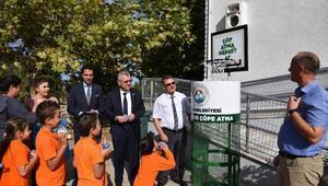 Keşan'da 'Çöp atma basket at' projesi hayata geçirildi