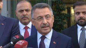 Fuat Oktay, 5.8lik İstanbul depremi hakkında açıklamalarda bulundu