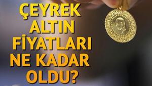 Altın fiyatları bugün ne kadar oldu 1 gram altın kaç TL ediyor