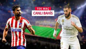 Madrid Derbisine Canlı Bahis oyna Öne çıkan iddaa tercihi...